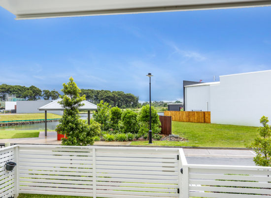 North facing, 3 bedroom home with park and water views! In sought after Mackenzie Precinct.