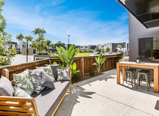 Under Contract Corner urban home with entertaining area overlooking the park! Your private oasis right in the heart of Maroochydore!